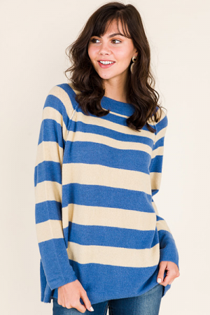 Seacrest Striped Sweater