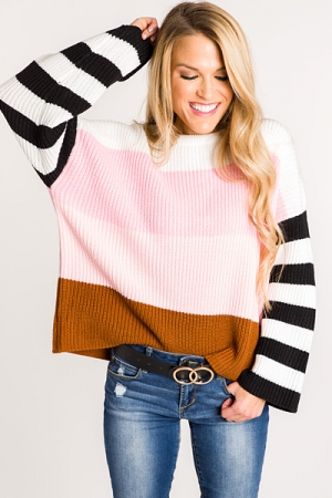 Top of the Line Sweater