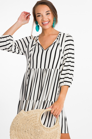 Mo Stripe Dress