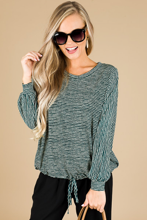 Waverly Tie Hem Top