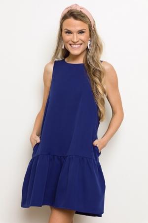 Better Together Dress, Blue