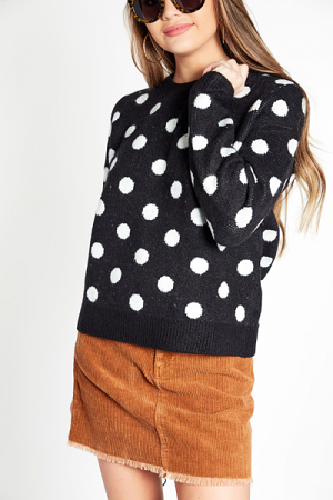Brenna Dots Sweater