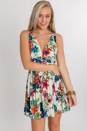 Taylor Tropical Dress