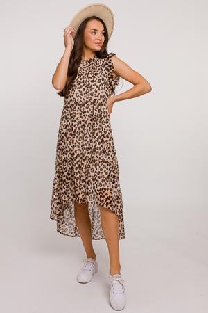Karlie Midi, Metallic Leopard