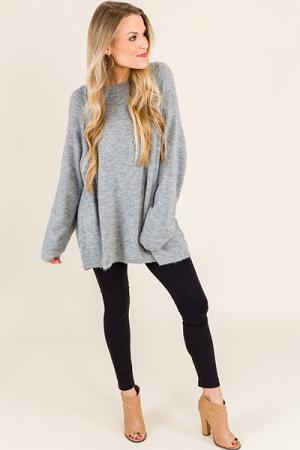 Dakota Pullover, Grey