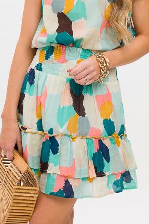 Paint Spots Skirt