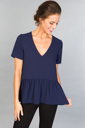 Melodia Top, Navy