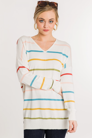 In a Dream Sweater, Multi Strip
