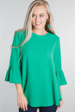 Bethany Tunic, Kelly Green