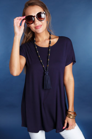 Go-To Tunic, Navy