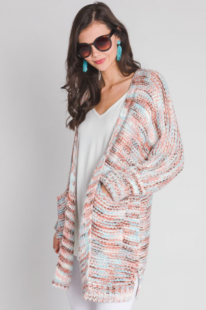 Cotton Candy Sweater Cardi