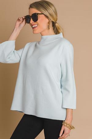 Audrey Sweater, Sky Blue