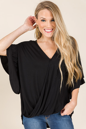 Kennedy Top, Black