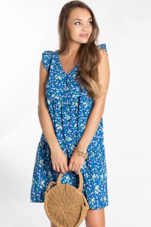 Swing Sweet Dress, Blue Floral