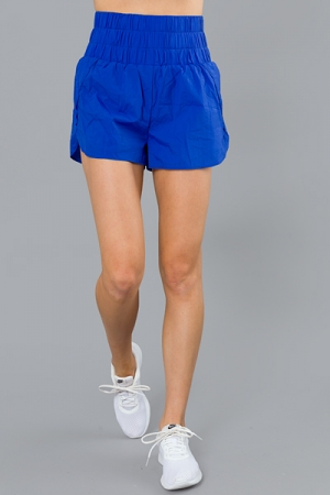 THE Work Out Shorts, Royal