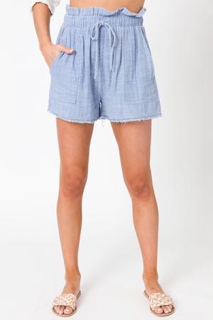 Laid Back Blue Shorts