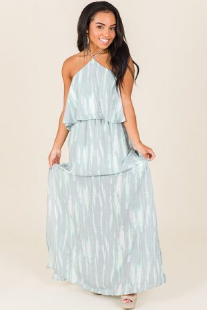 Turks and Tie Dye Maxi