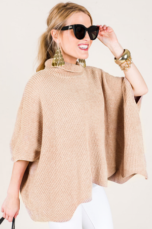 Savvy Scalloped Chenille, Taupe