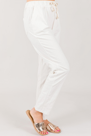Good Vibes Pants, White