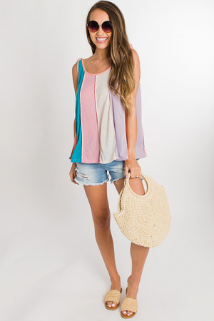 Sherbet Stripes Tank