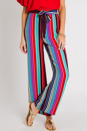Cabo Cruise Stripe Pants