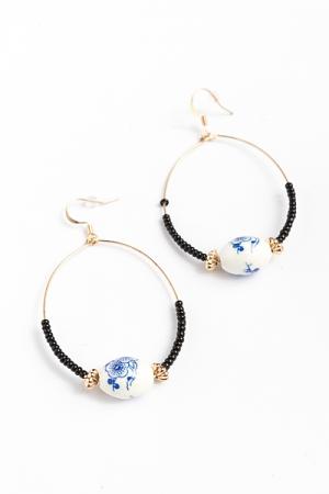 Summerlin Chinoiserie Charm Earrings