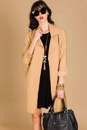 All Day Jacket, Taupe