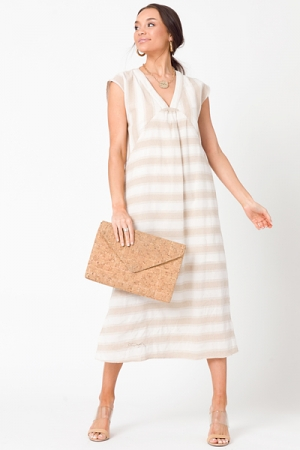 Line In The Sand Midi, Taupe