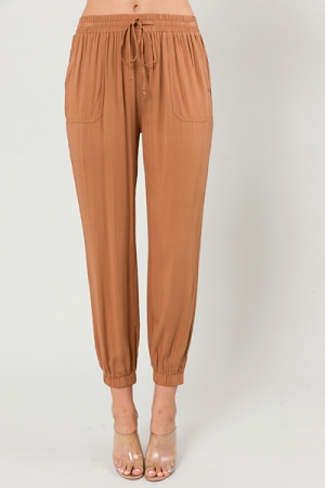 Copper Pull On Joggers