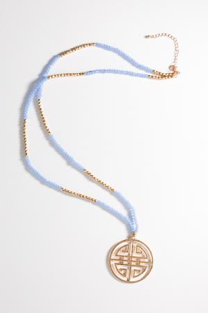 Periwinkle Pendant Necklace