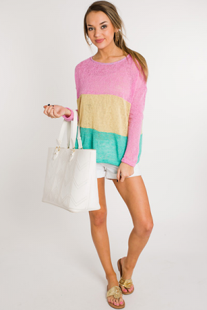 Popsicle Striped Sweater