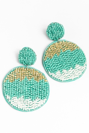 Tri-tone Discs, Turquoise