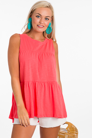 Tiered Tank, Coral