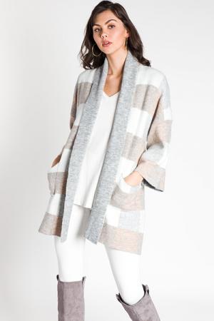 City Stroll Sweater Coat