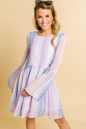 Pastel Perfect Babydoll Dress