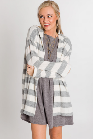 Gracie Striped Cardigan