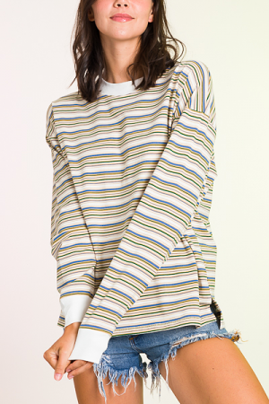 Earth Stripes Pullover