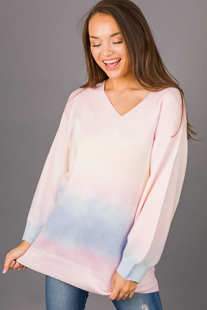 Cotton Candy Sky Sweater