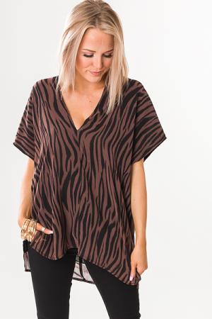 Classic Karlie Tunic, Zebra