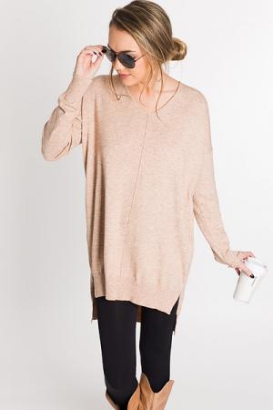 Jess V Neck Sweater