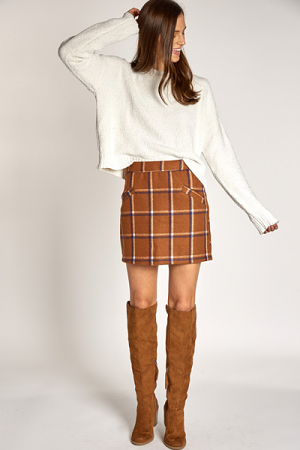 Waldorf Plaid Skirt