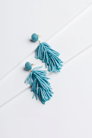 Blue Blast Fringe Ear