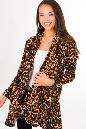 Score Cheetah Cardigan
