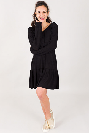 Kylee Dress, Black