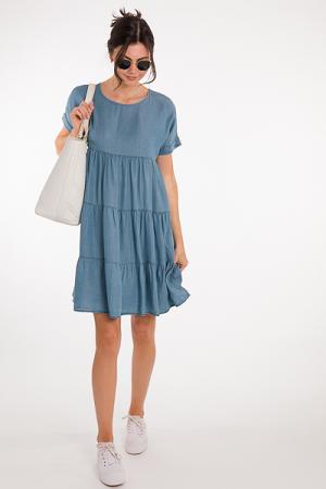Charity Chambray Dress