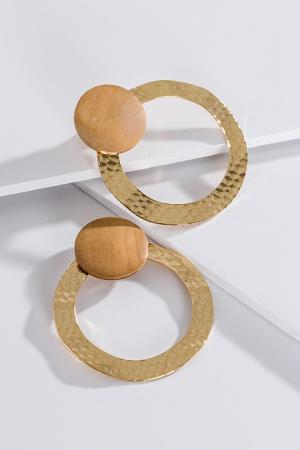 Hammered Loops, Wood