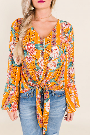 Party Print Top