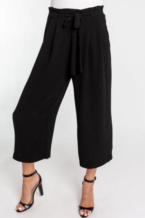 Tied and True Pants, Black
