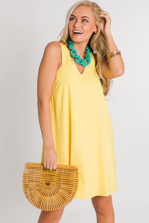 Yellow Gumdrop Dress