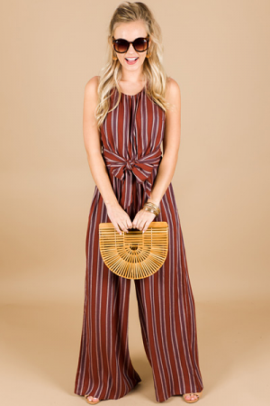 Brick Stripes Jumpsuit